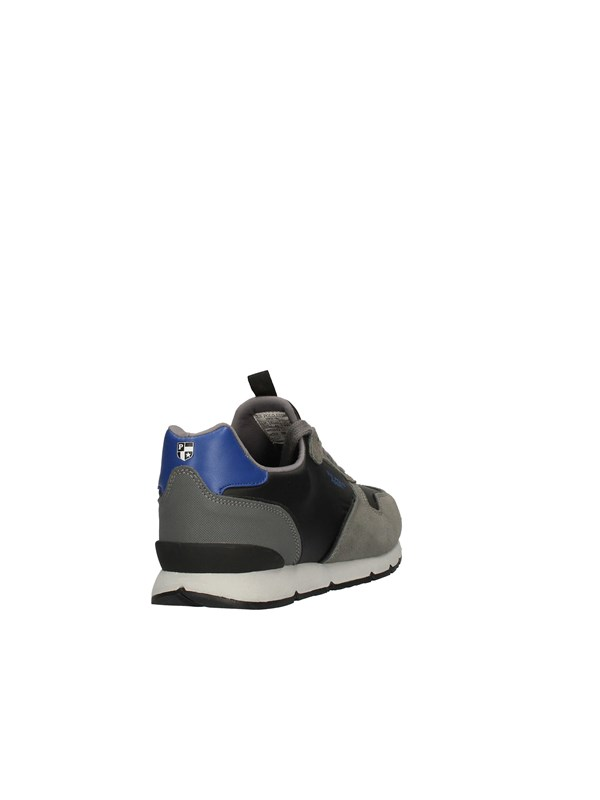 U.S POLO Sneakers High GRAY BLUE