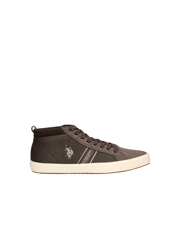 U.S POLO Sneakers Low BROWN