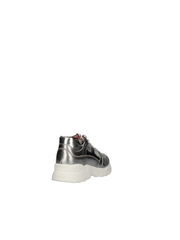 NERO GIARDINI TEENS Sneakers Low STEEL