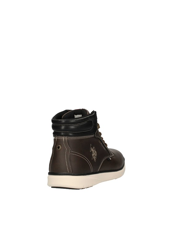 U.S POLO Sneakers High BROWN