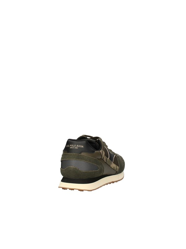 U.S POLO Sneakers Low MILITARY GREEN