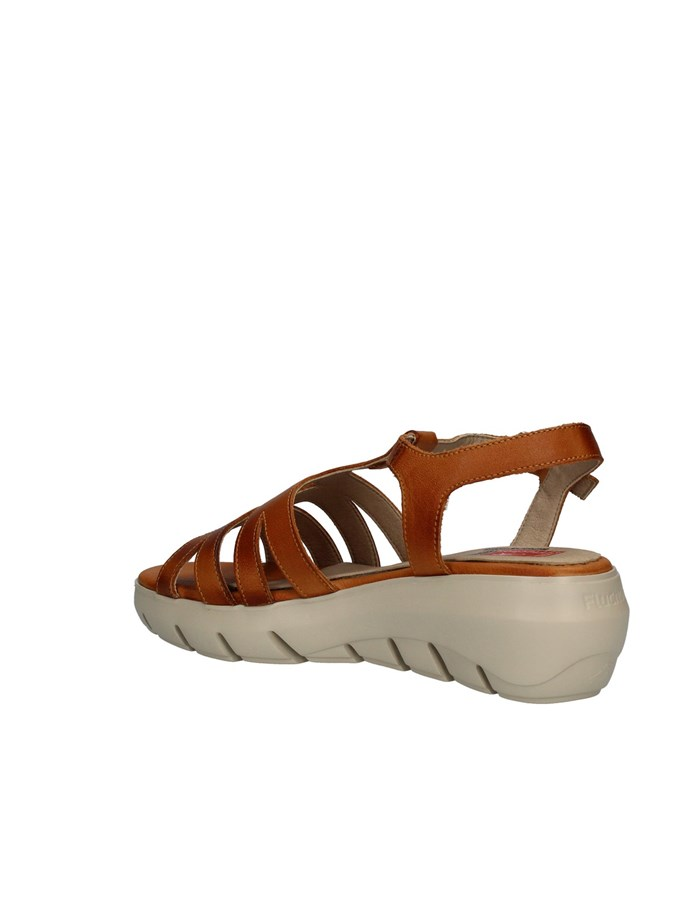 FLUCHOS Sandals with wedge LEATHER