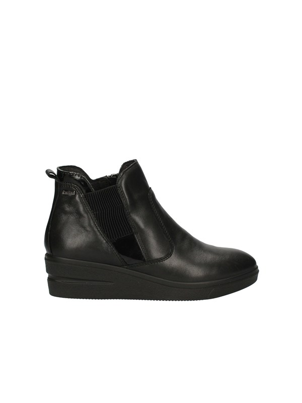 IGI&CO Sneakers with wedge BLACK