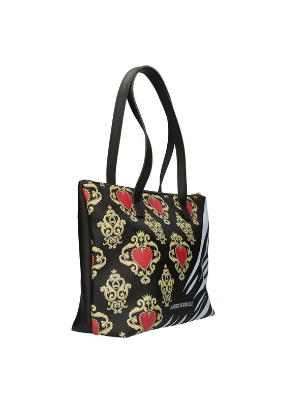 ALVIERO RODRIGUEZ Shopping bags ROYAL ZEBRINE