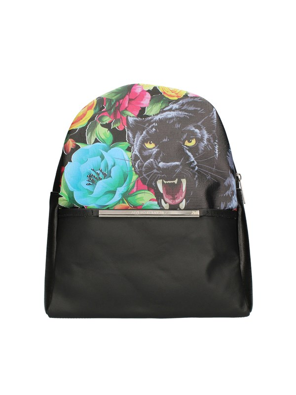 ALVIERO RODRIGUEZ Backpacks DANGEROUS BLACK