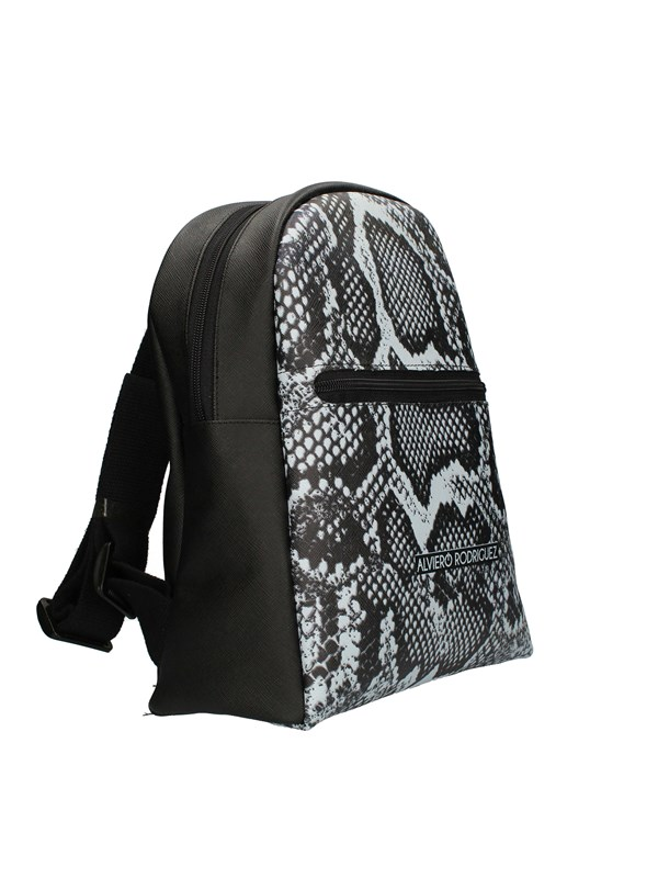 ALVIERO RODRIGUEZ Backpacks WHITE MAMBA