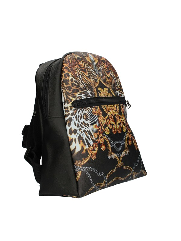 ALVIERO RODRIGUEZ Backpacks BAROQUE LEOPARD