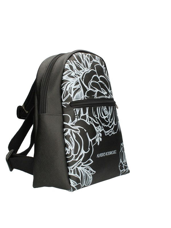ALVIERO RODRIGUEZ Backpacks ROSES WHITE