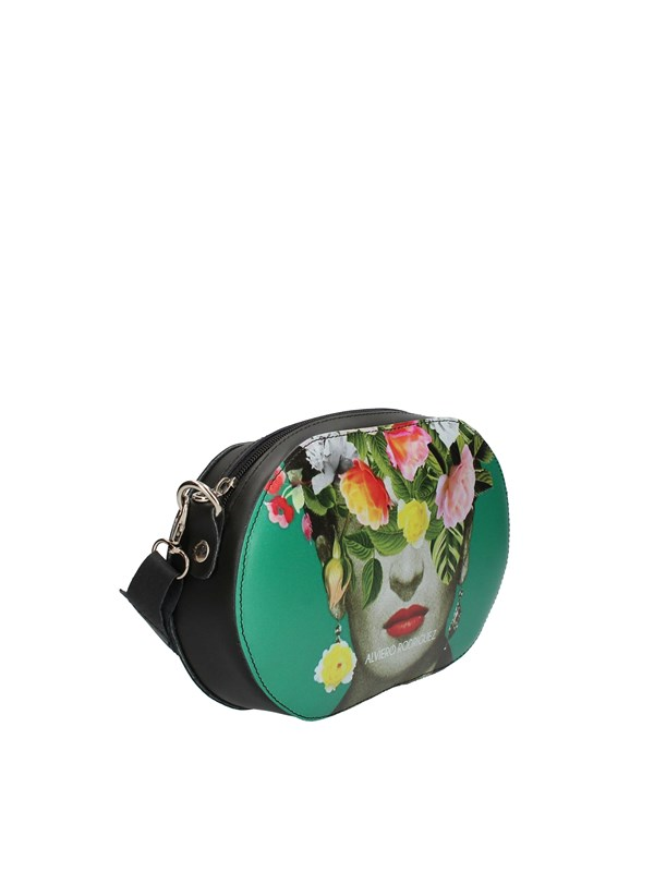 ALVIERO RODRIGUEZ Shoulder Bags FRIDA FLOWERS