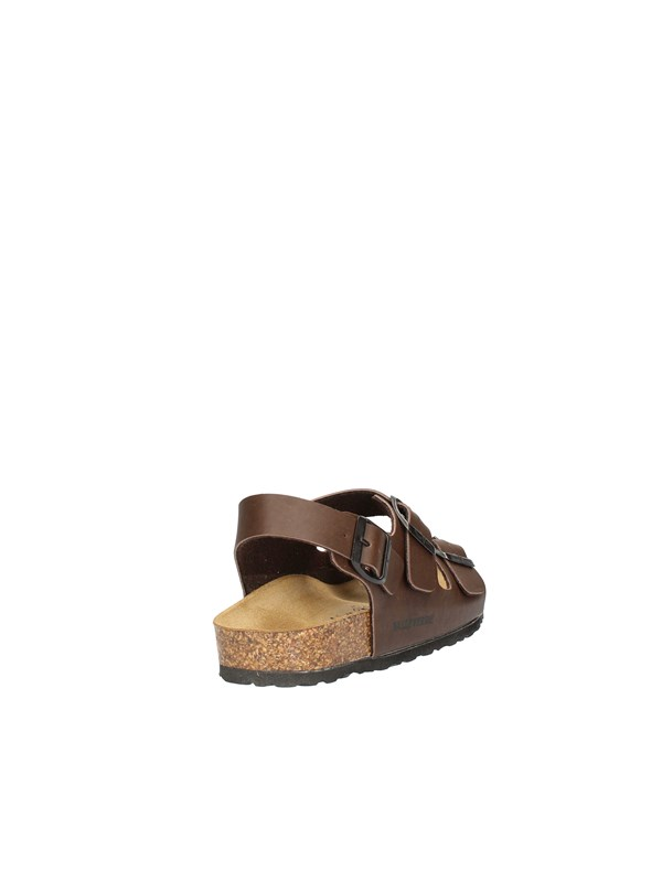VALLEVERDE Sandals Low BROWN