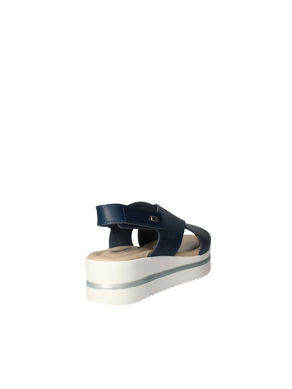 VALLEVERDE Sandals with wedge BLUE
