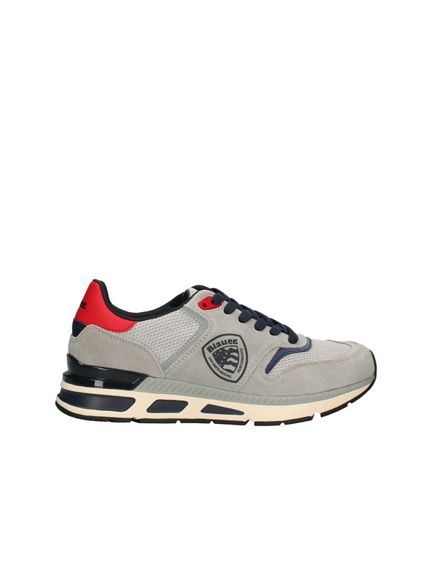 BLAUER Sneakers High GRAY / RED / NAVY