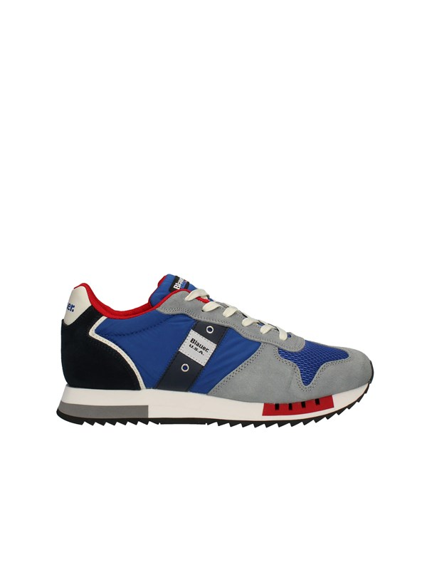 BLAUER Sneakers High ROYAL BLUE