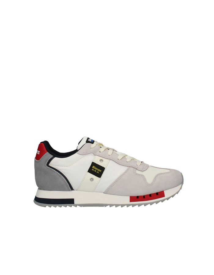 BLAUER Sneakers High WHITE / RED / NAVY