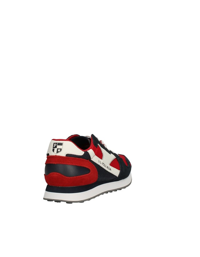 U.S POLO Sneakers Low BLUE / RED