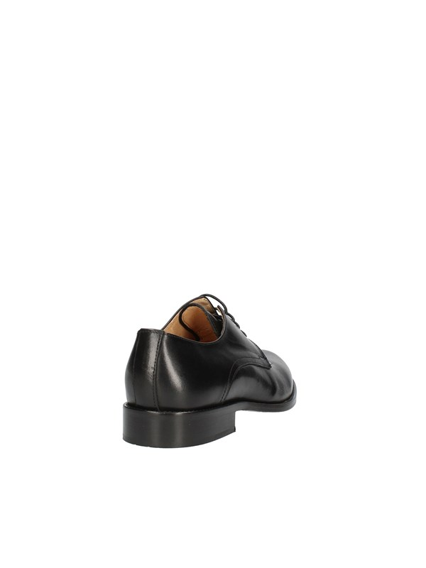 EXTON LACE-UP MAN BLACK