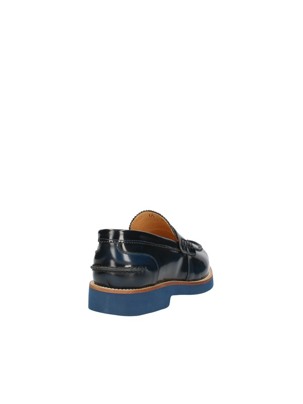 EXTON MEN'S LOAFERS BLUE
