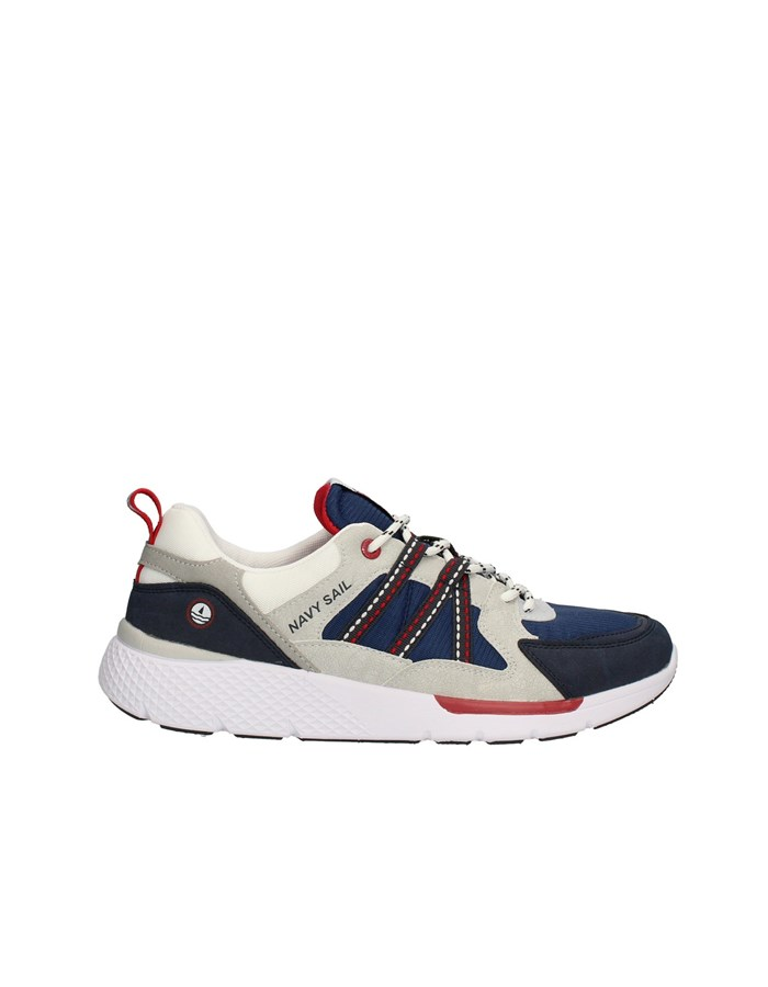 NAVY SAIL Sneakers High DEEP-MING